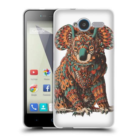 OFFICIAL BIOWORKZ COLOURED WILDLIFE 1 SOFT GEL CASE FOR ZTE PHONES
