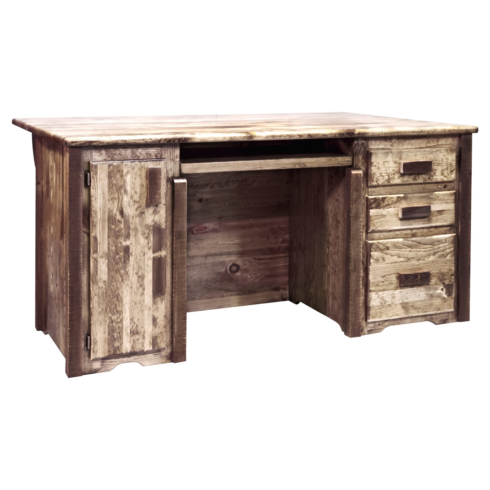 Montana Woodworks Homestead Executive Office Desk
