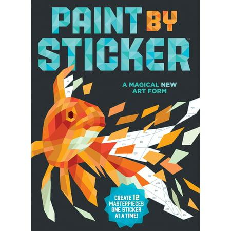 Paint by Sticker - Paperback - Walmart.com