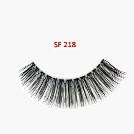 Stardel Lash 100% humains Lashes Cheveux - SF 218 Noir - - image 1 de 2