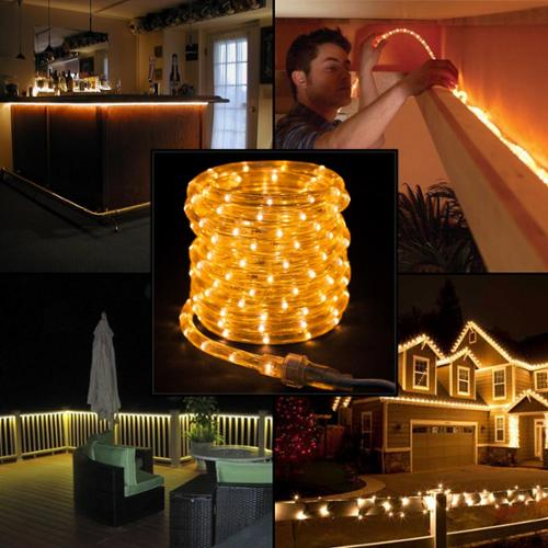Merveilleux American Lighting 27ft White LED Rope Lights Christmas Holidays Indoor  Outdoor