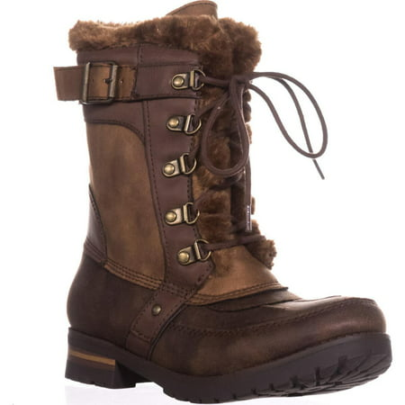 Womens Brown Winter Boots - Womens Rock & Candy Danlea Mid-Calf Winter Boots, Brown