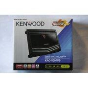 Kenwood KAC-5001PS 1,000-Watt Class D Mono Power Amplifier with LPF