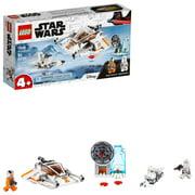 LEGO Star Wars Snowspeeder 75268 Starship Creative Building Toy for Preschool Children 4+ (91 pieces)