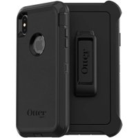 OtterBox Defender Series Case and Holster for iphoness Xs Max, Black