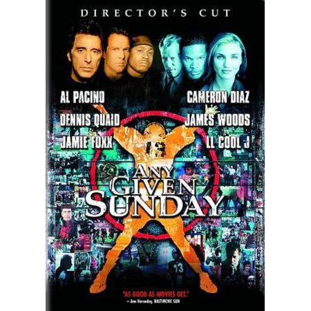 Any Given Sunday  Dvd   Canadian