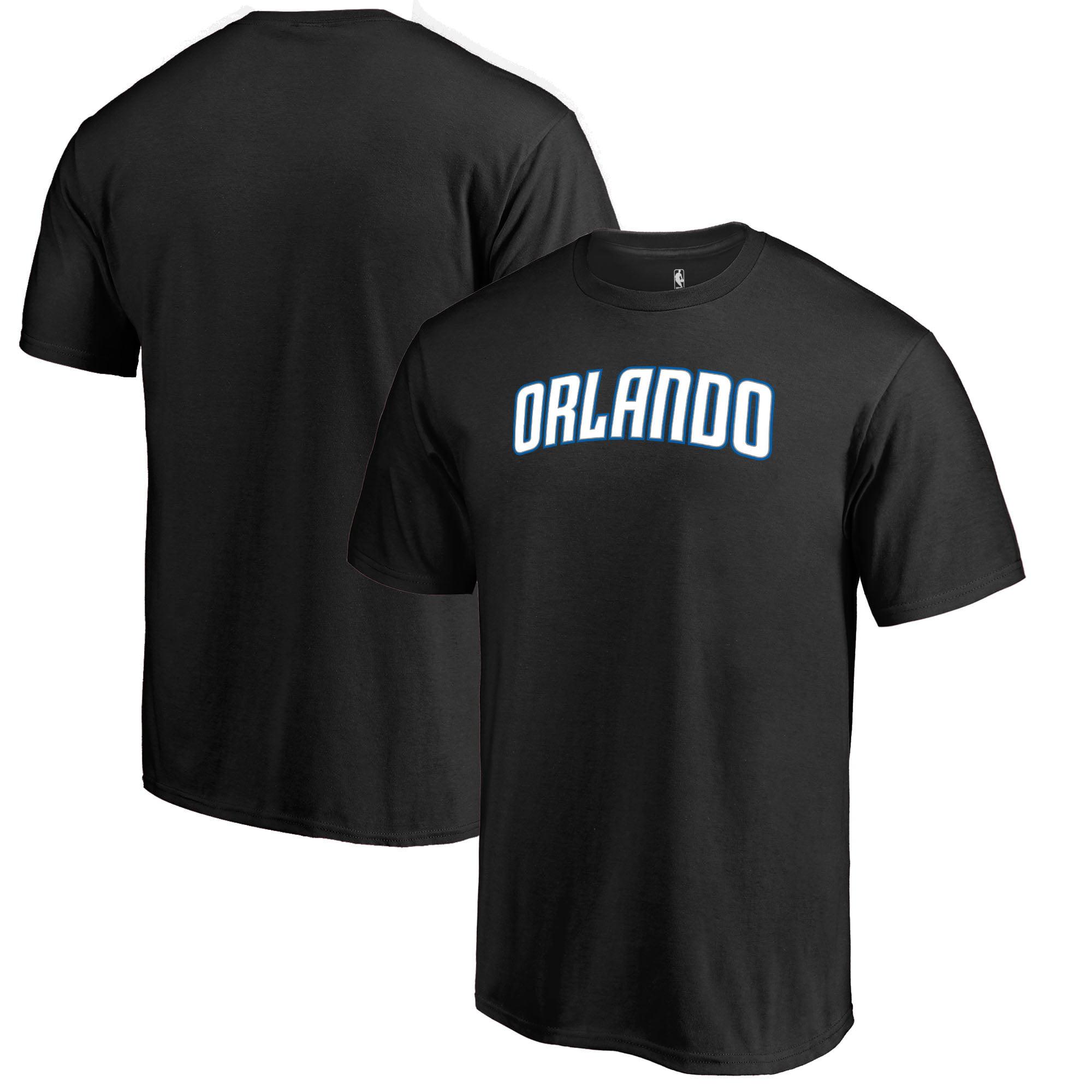 Orlando Magic Fanatics Branded Alternate Logo T-Shirt - Black