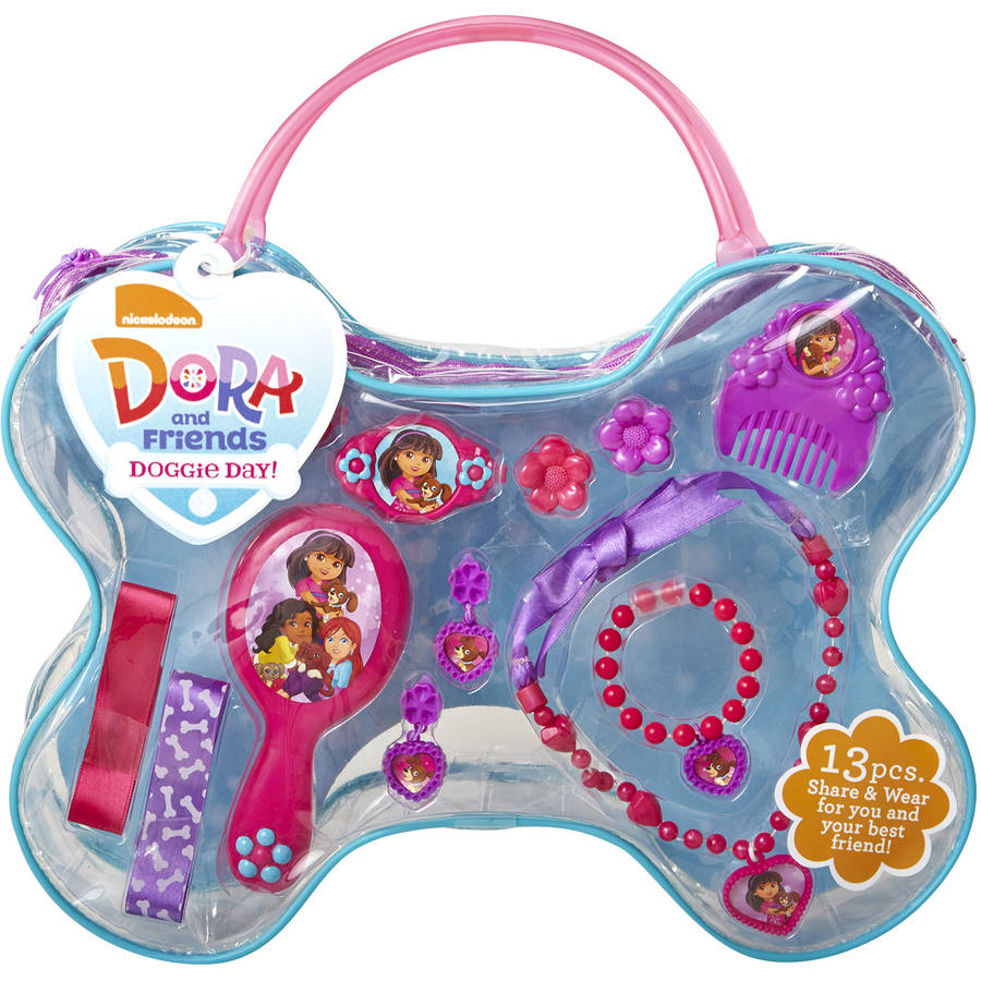 Dora And Friends Doggie Day Accessory Tote by Jakks
