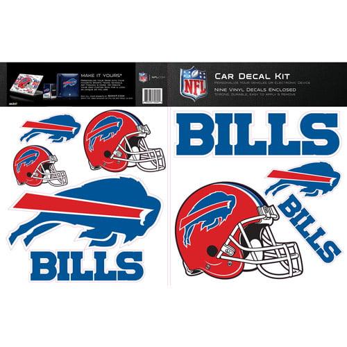 Skinit Buffalo Bills Car Decal Kit
