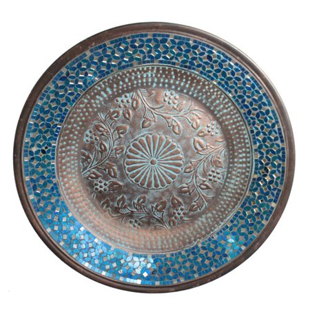 Urban Designs Mosaic Metal Platter Wall D - Mosaic Design