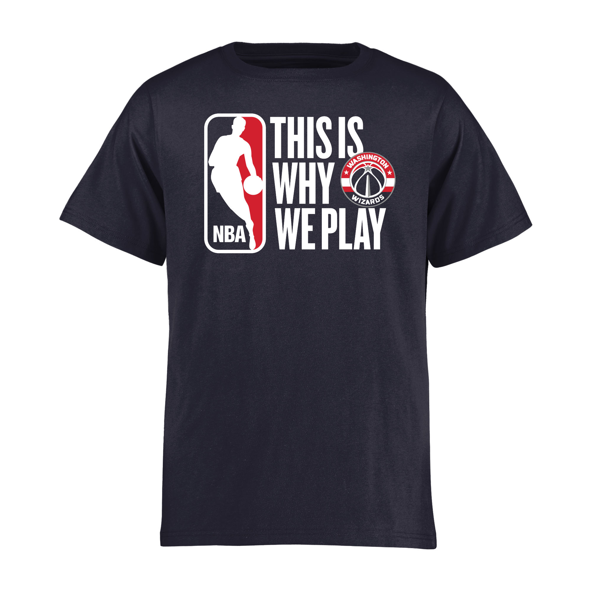 Washington Wizards Youth This Is Why We Play T-Shirt - Navy