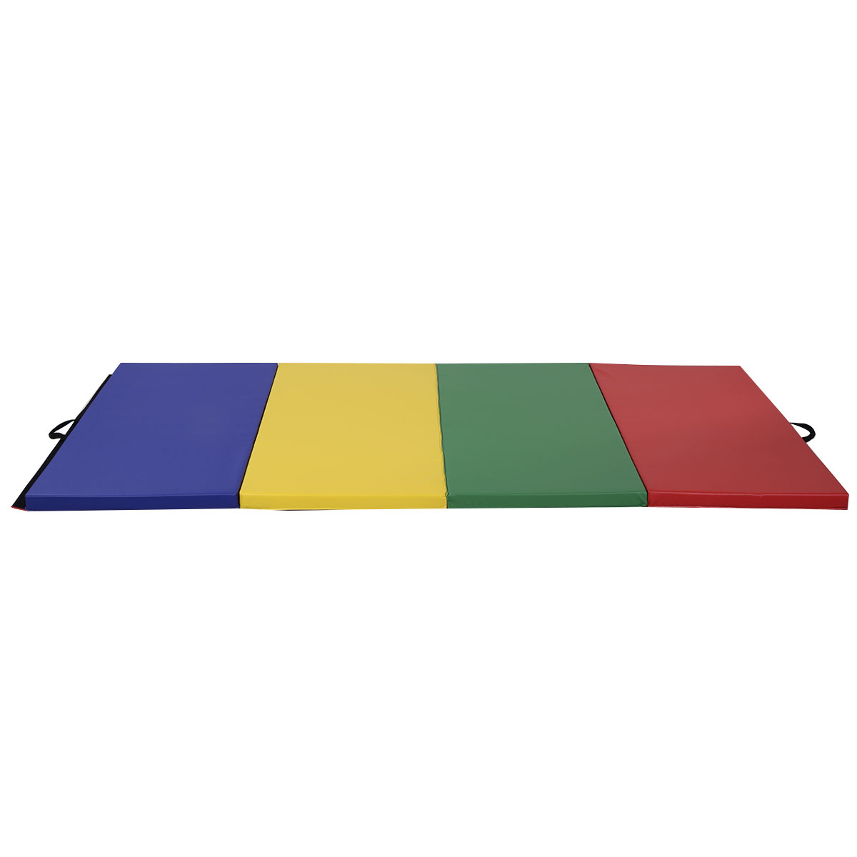 Worksheet Cbb Dance Mat costway 4x8x2 pu gym folding panel exercise tumbling pad gymnastics mat multi color walmart com