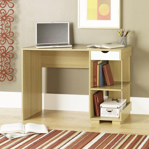 Sauder Desk, Rice/White