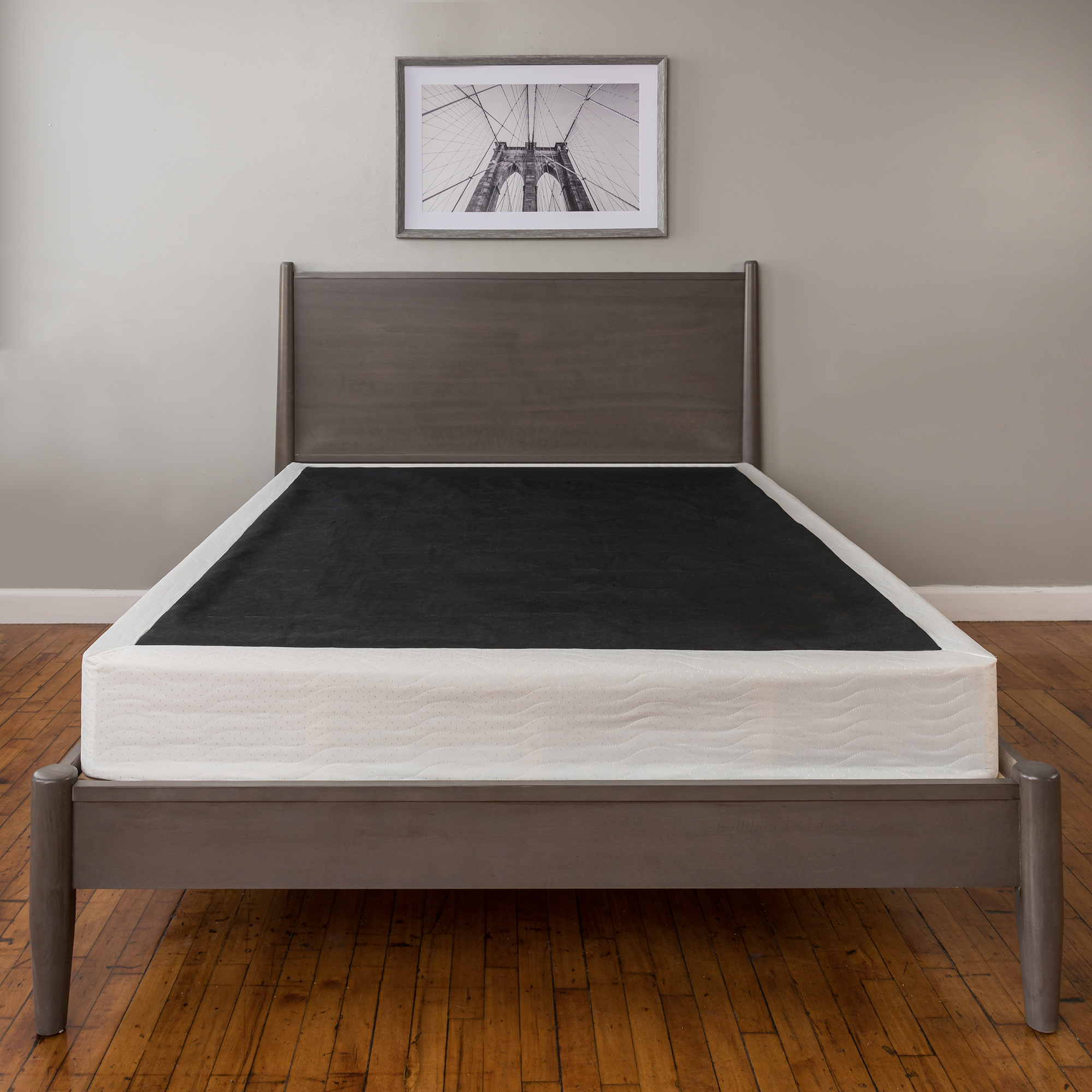 modern sleep instant foundation high profile 8 inch box spring replacement mul ebay. Black Bedroom Furniture Sets. Home Design Ideas