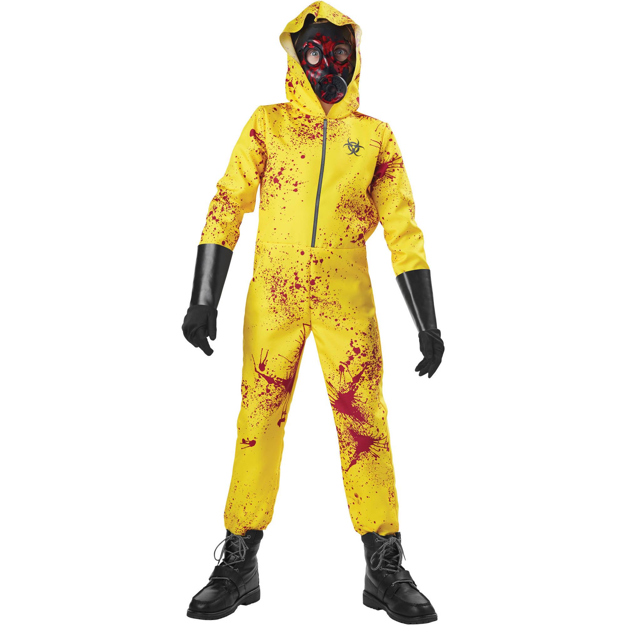 Zombie Hazmat Boys Costume