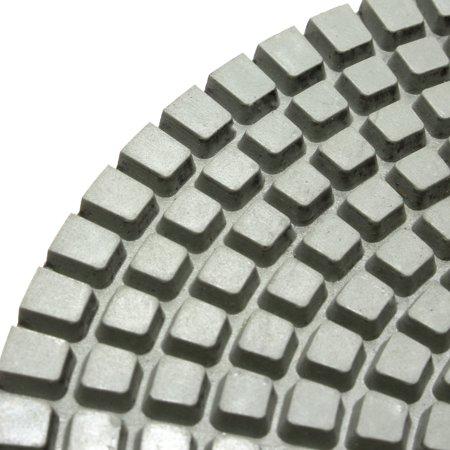 "1Pcs 125 mm/5"" Polishing Pads Wet/Dry Diamond Polishing Pads For Granite Concrete Marble Polish, Grit 30-100000 - image 3 of 7"
