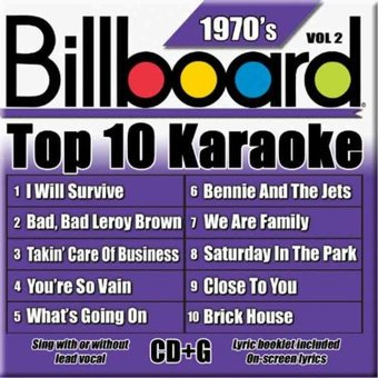 - Billboard Top 10 Karaoke, Vol. 2: 1970'S