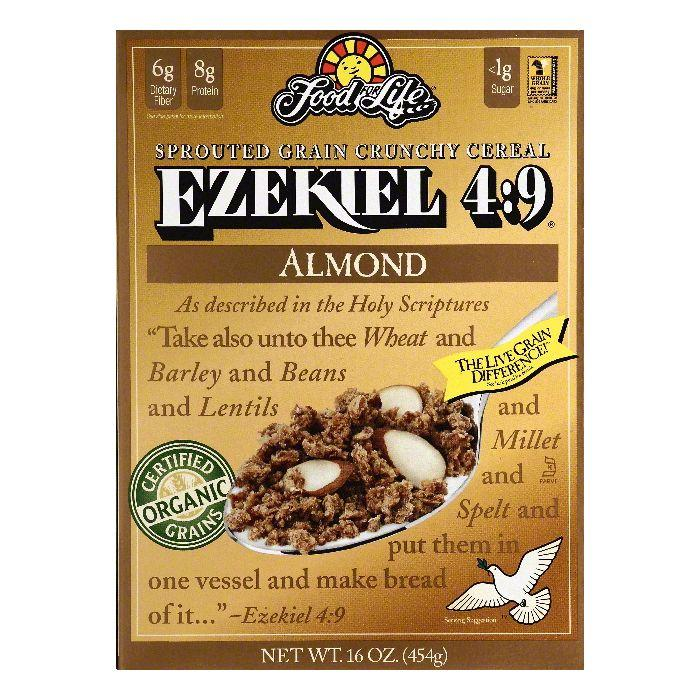Food For Life Organic Ezekiel 4:9 Sprouted Whole Grain Ce...