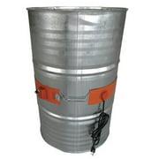 Drum Heater, Elec, 6.5A, 115V, L38 1/8In