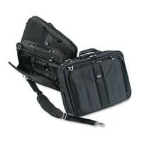"""Kensington Contour Pro 17"""" Laptop Carrying Case, Nylon, 17-1/2 x 8-1/2 x 13, Black"""