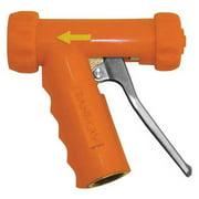 SANI-LAV N1T Spray Nozzle,Brass/SS,Safety Orange