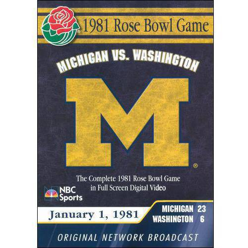 1981 Rose Bowl Game