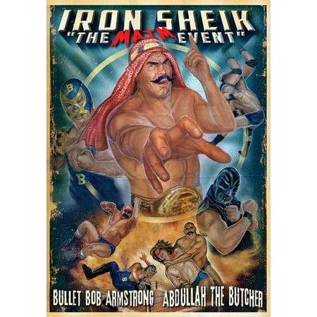 Iron Sheik: Maim Event Wrestling (Uncut Directors) ( (DVD))