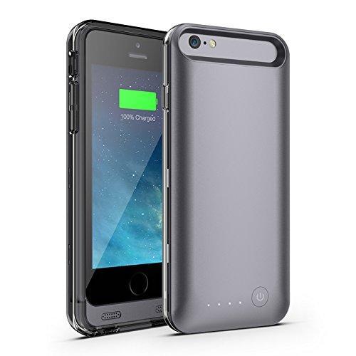 Mota Iphone 6 Plus 4000 Mah Extended Battery Case - Black - Iphone - Black (mt-as6bk)
