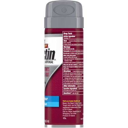 Tinactin Athlete's Foot Antifungal Treatment Liquid Spray, 5.3 oz Can