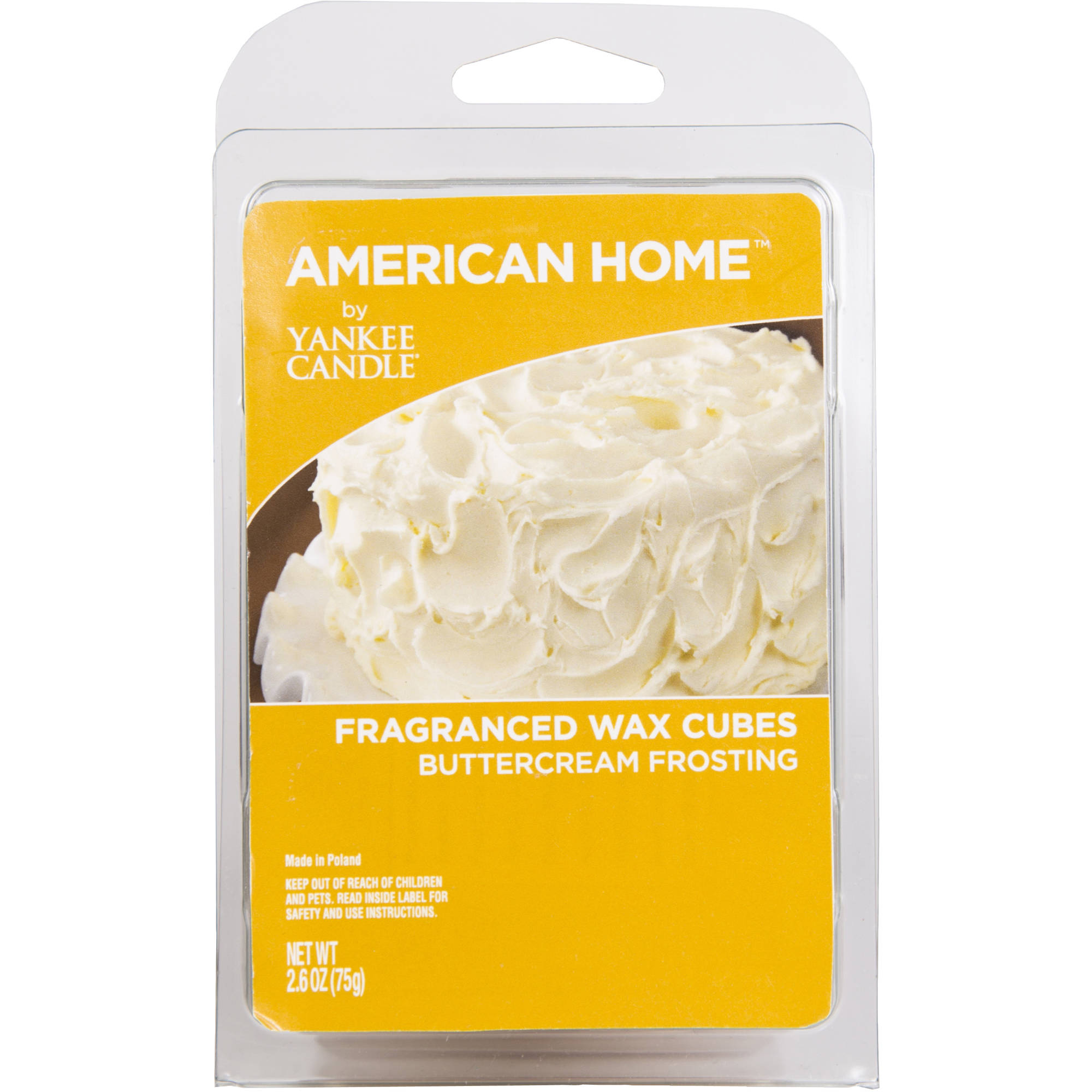 American Home by Yankee Candle Buttercream Frosting, 2.6 oz Fragranced Wax Cubes