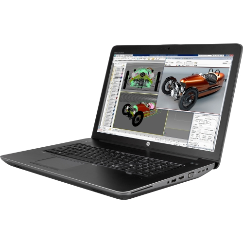 "HP ZBook 17 G3 17.3"" (DreamColor, In-plane Switching (IPS) Technology) Mobile Workstation - Intel Core i7 (6th Gen) i7-6700HQ Quad-core (4 Core) 2.60 GHz - Space Silver - 16 GB DDR4 SDRAM RAM - 1"