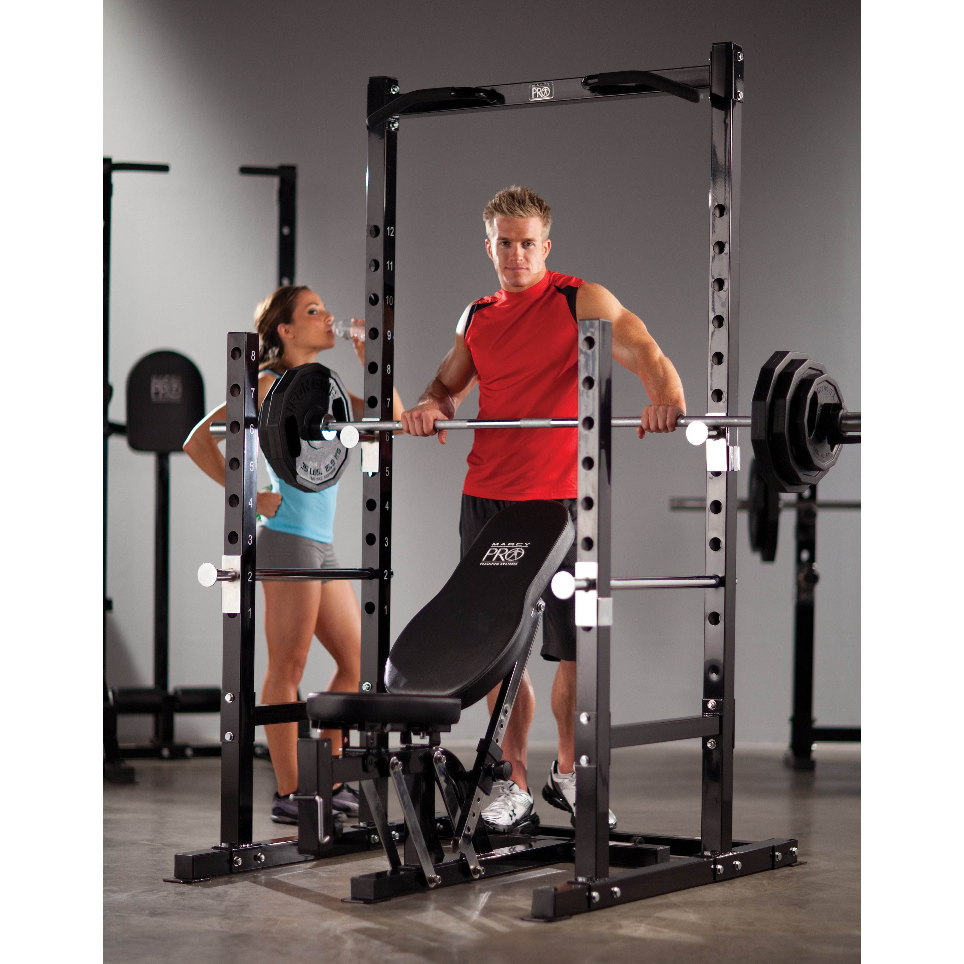 Marcy Platinum Power Rack with Optional Attachments