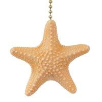 Coastal Beach Treasure Armoured Starfish Ceiling Fan Pull or Light Pull Chain
