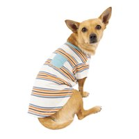 Vibrant Life Multi-Colored Stripe Pocket Dog T-Shirt