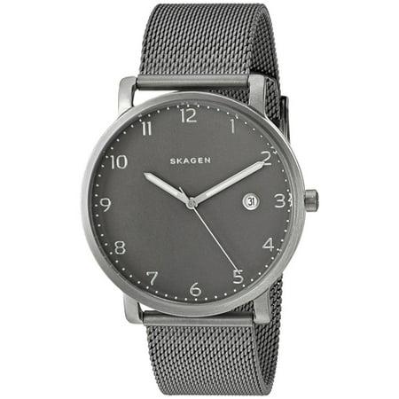 Men's Hagen Watch Quartz Mineral Crystal SKW6307 ()