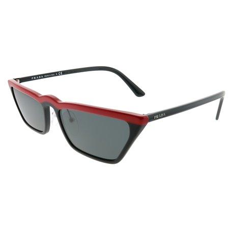 Prada PR 19US YVH5S0 Women Cat-Eye Sunglasses