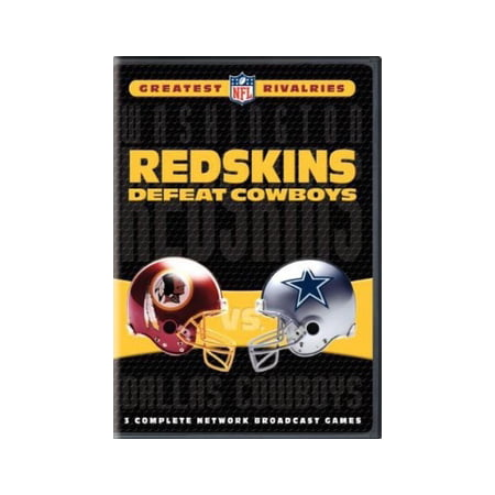 NFL Greatest Rivalries: Redskins Defeat Cowboys (DVD) - Redskin Vs Cowboys