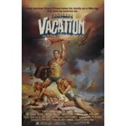 National Lampoon Vacation Movie Poster Metal Sign 8in x 12in by