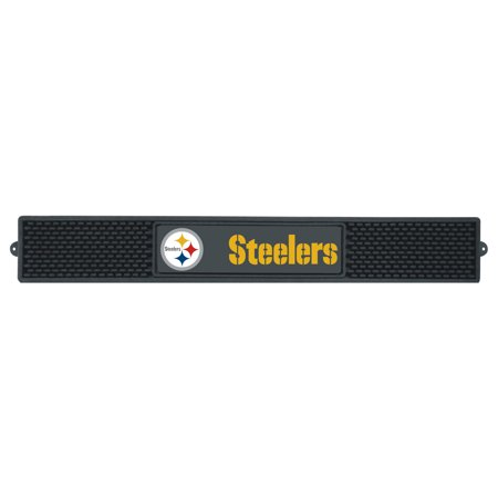 Field Pittsburgh Steelers Football Rug - FanMats NFL Pittsburgh Steelers Drink Mat