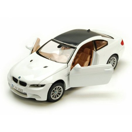 BMW M3 Coupe, White - Motormax 73347W - 1/24 Scale Diecast Model Toy Car Bmw M3 Coupe Car