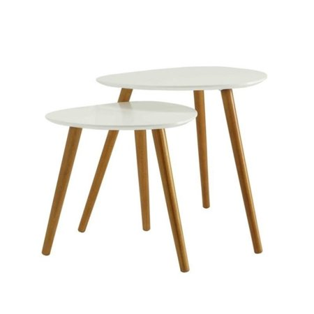 Convenience Concepts No Tools Oslo Nesting End Tables