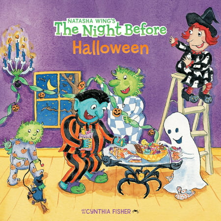 The Night Before Halloween (Paperback)](Printable Halloween Book Jackets)