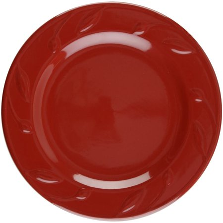 "Signature Housewares Sorrento 8"" Salad Plate - Ruby"