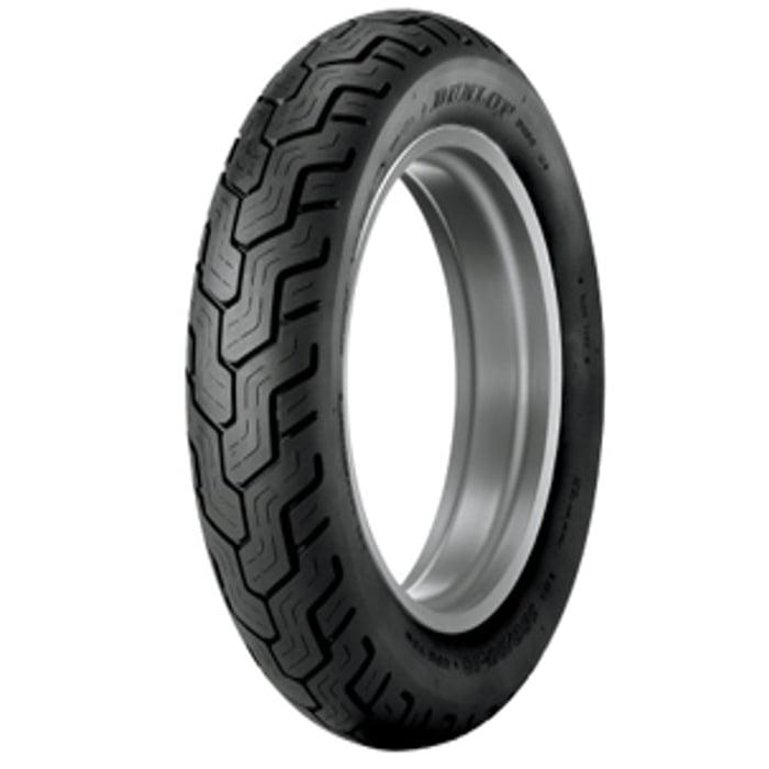 Dunlop D404 Metric Cruiser Rear Tire - 150/90H-15/Blackwa...