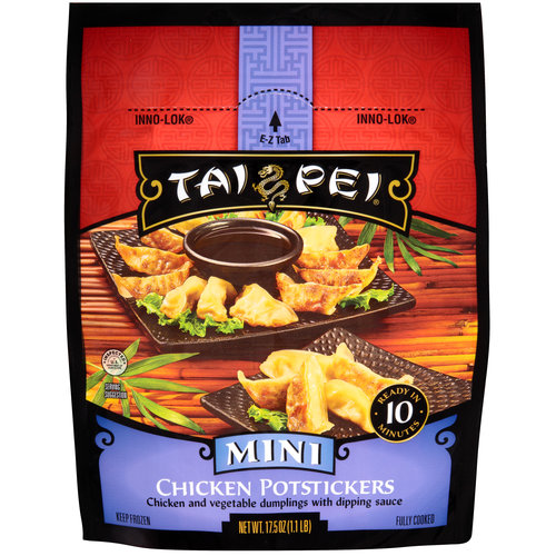 Tai Pei Mini Chicken Potstickers, 17.5 oz