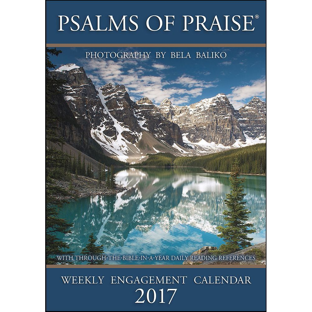 Baliko Psalms of Praise Softcover Weekly Planner