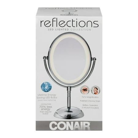Conair Reflections Led Lighted Collection Polish Chrome