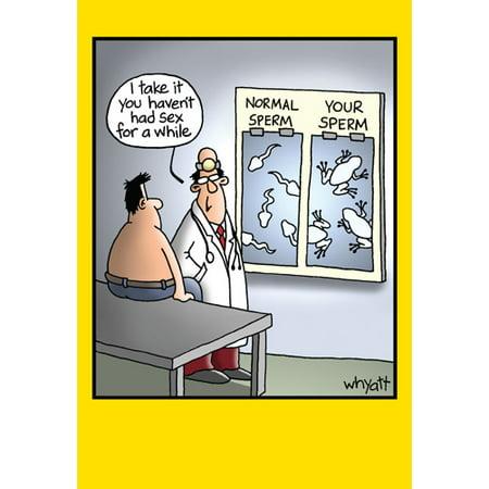 Nobleworks Frogs on X-ray Funny / Humorous Tim Whyatt Birthday