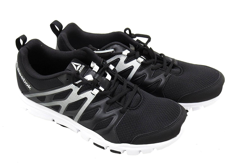 Reebok YourFlex Mens Size 9.5 Train SC Shoe, Black