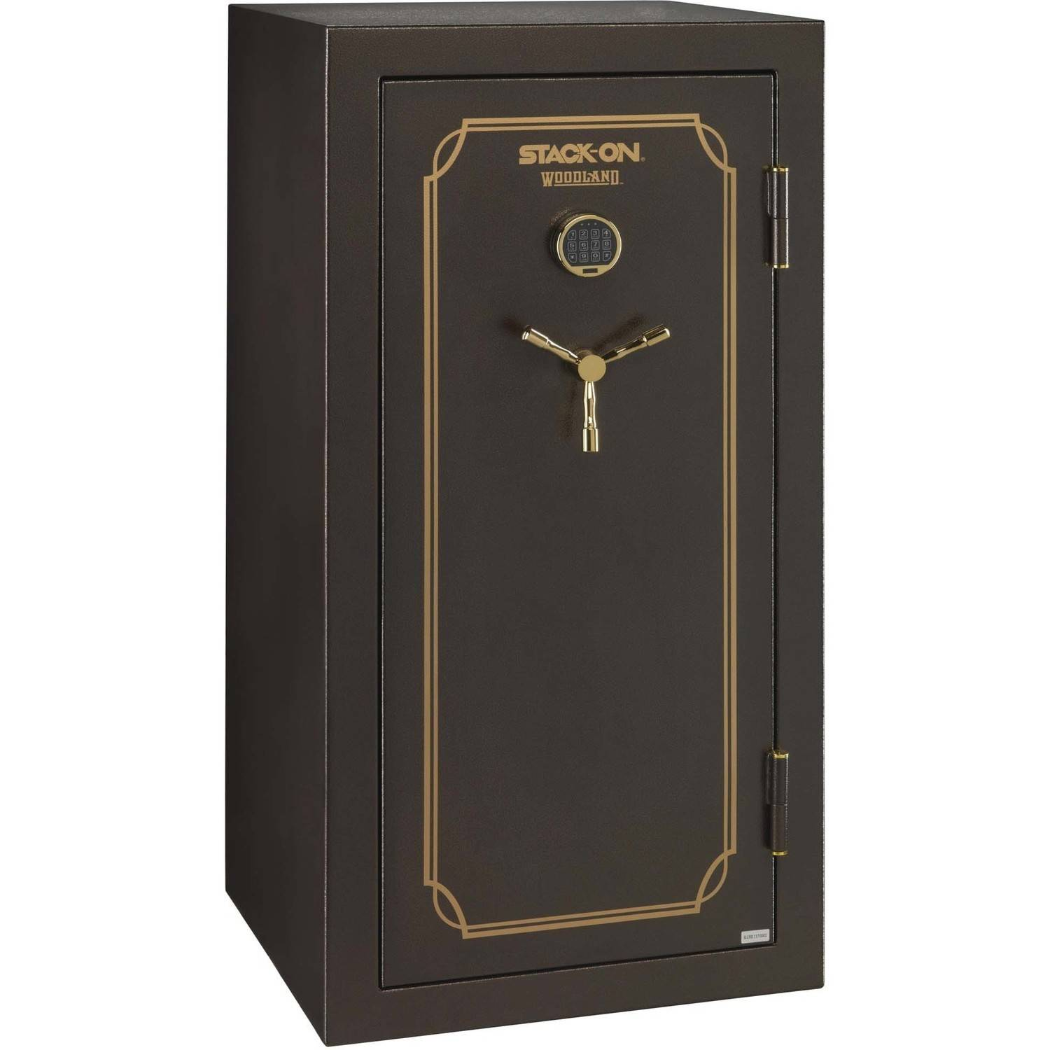 Woodland 40-Gun Safe with Electronic Lock and Door Storage by Generic